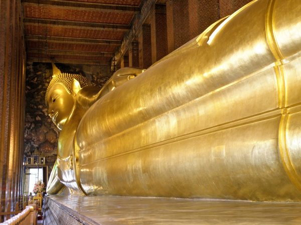 Wat Pho, the Sleeping Giant Buddha, Thailand