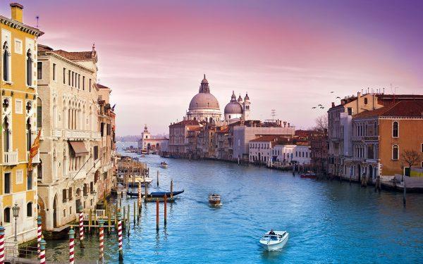 Romantic in Venice. Italy