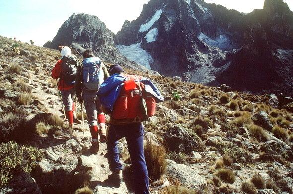 kenya hiking trails